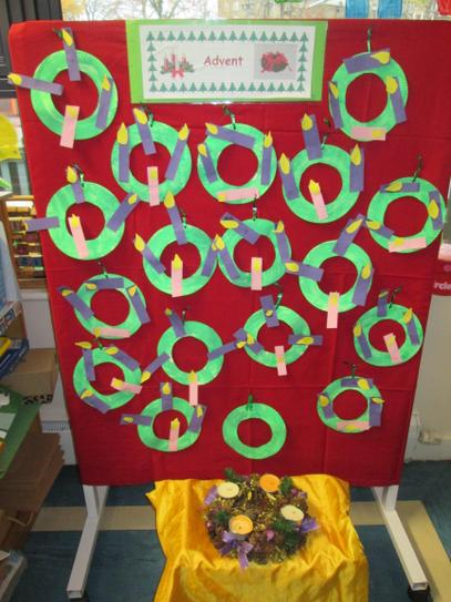 Our Own Avent Wreaths
