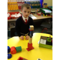 Building with 3D shapes