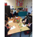 We are learning to represent numbers using objects