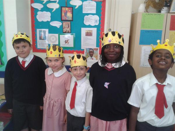Crowns for the Queen's birthday