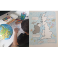 Learning all about the UK Seas.