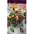 Our Christmas wreaths