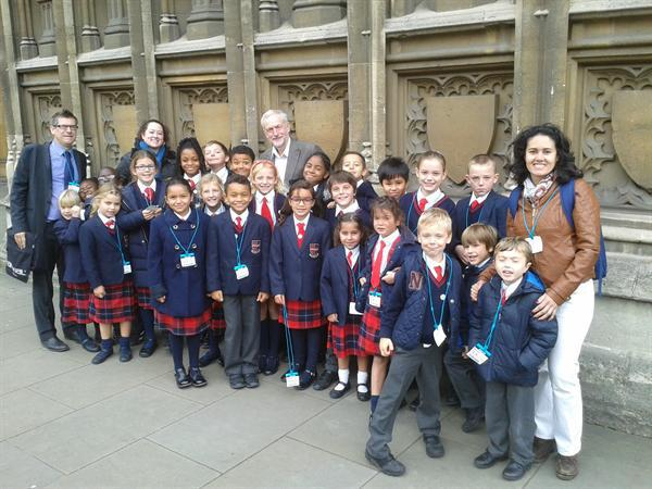 School Council visit to the Houses of Parliament