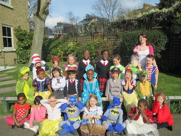 Miss Boulton's Reception Class