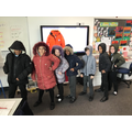 Modelling our own coats!