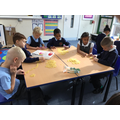 We used pasta in maths to visualise 100.