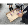 We built our own version of London using our model houses.