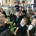 Talk time - we share our ideas during carpet time