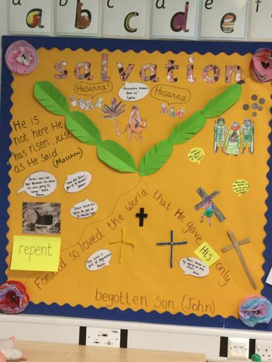 Our class display