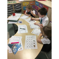 Writing the story after performing it.