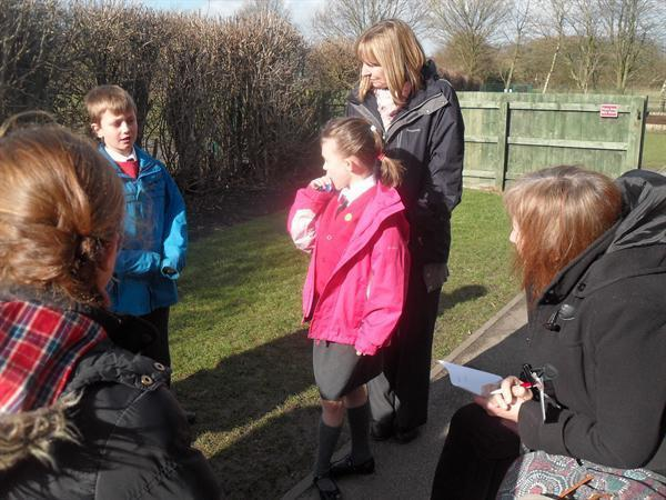School Council thinking about a Quiet Area