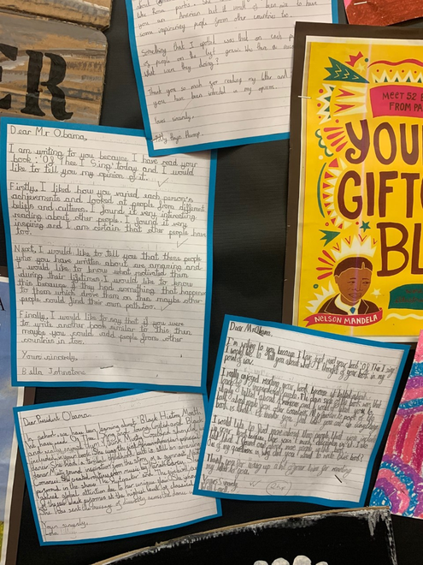 Black Lives Matter Writing