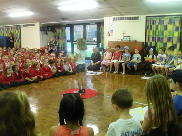 Year 2 Class Assembly - Seaside