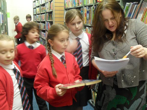 Our Librarians visit the Education Library