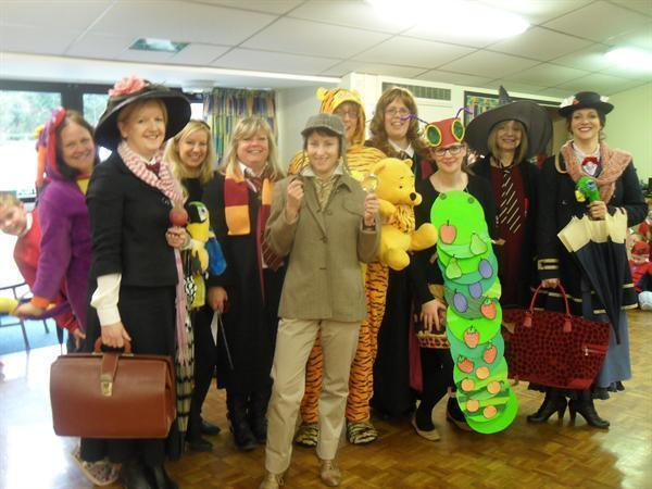 Teachers dress up for World Book Day