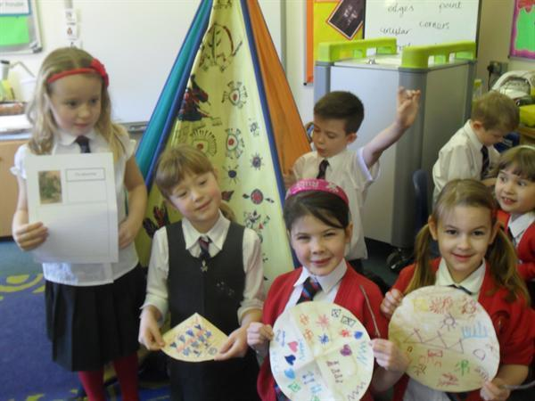 Year 2 finding out about Native American history