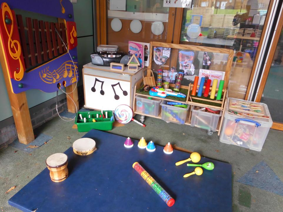 Our Musical Sounds Station!