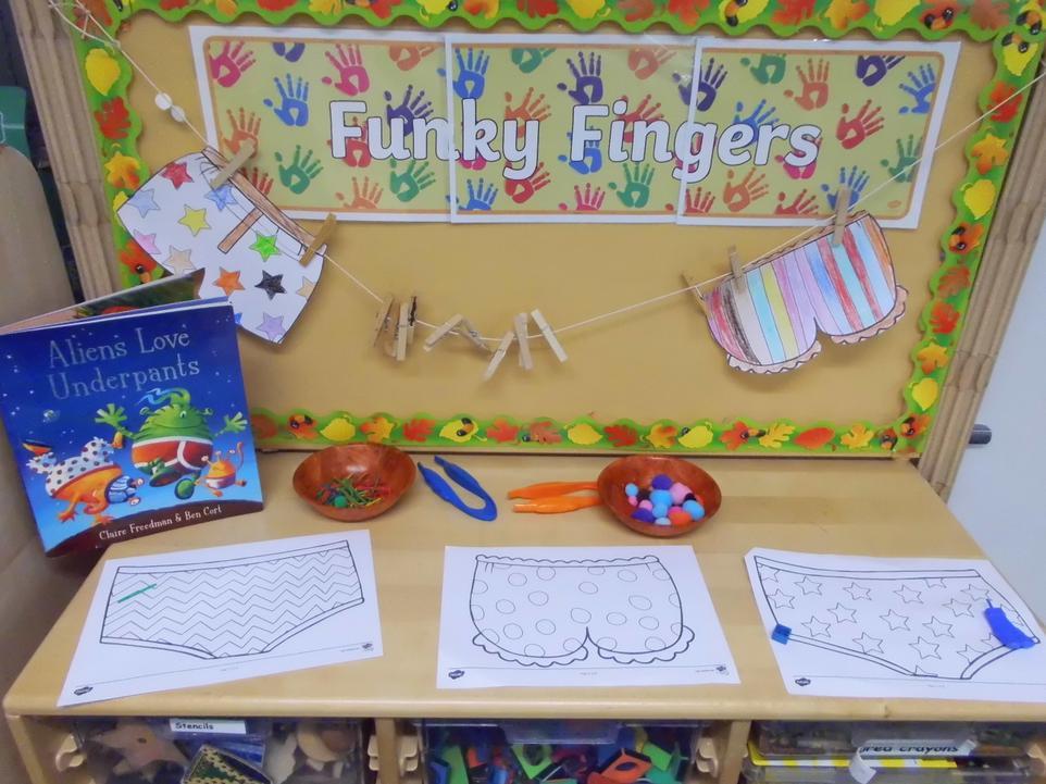 Funky Fingers activities!
