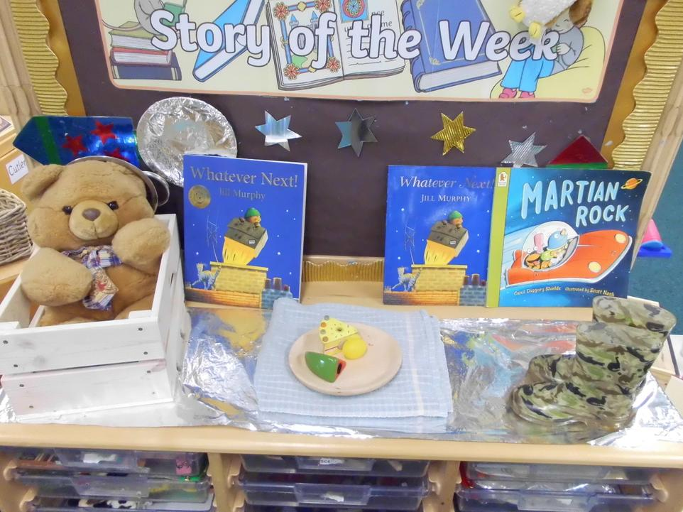 We enjoy a story of the week!