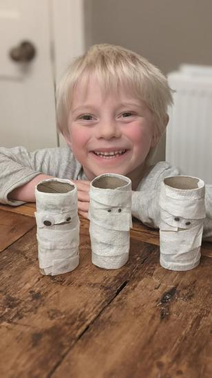 Seth's Egyptian Mummy family.