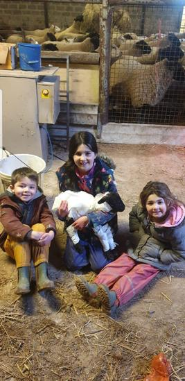 Emmie, Max and Skye with their Mummy!