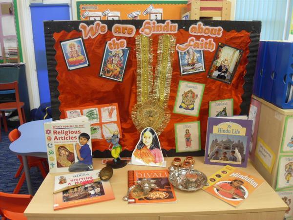Class 1 display - Hinduism