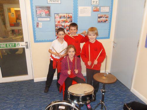 Keen drummers