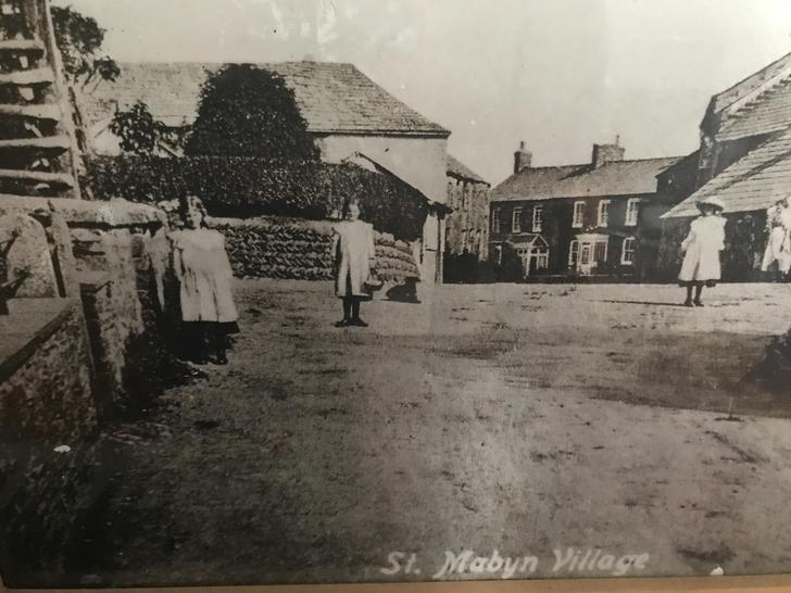 St Mabyn  at the turn of the last century