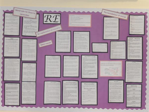 Class 3 display - The foundations of morals