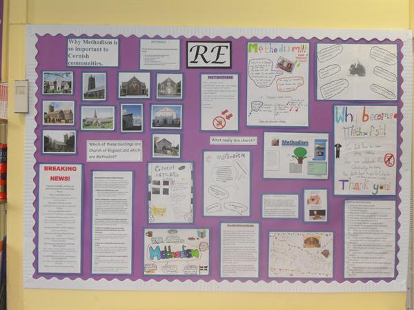 Class 3 display - Methodism