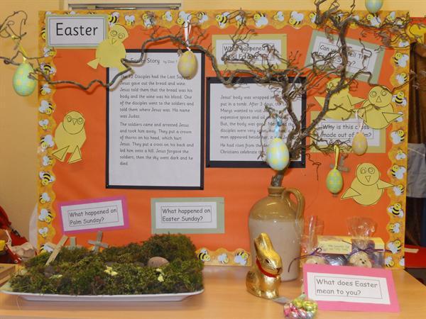 An Easter Garden - Class 1