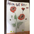 LO's beautiful VE Day art!