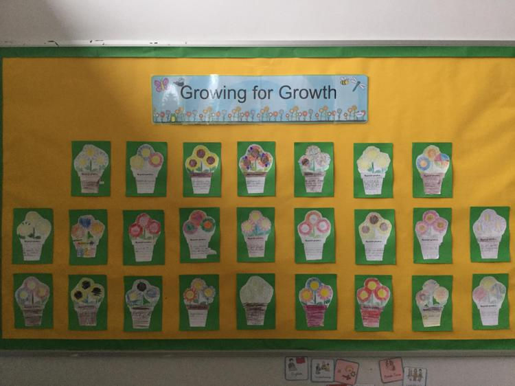 Growing towards our goals