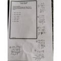 Some Maths work by LW