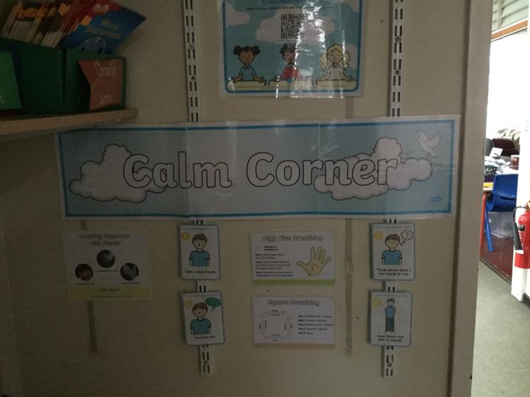 Classes have Calm Corners