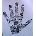SW - zentangle hand