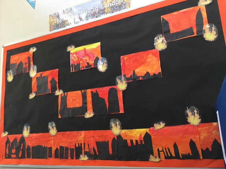 Great Fire of London Art Work!