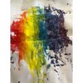 JM's cool rainbow art