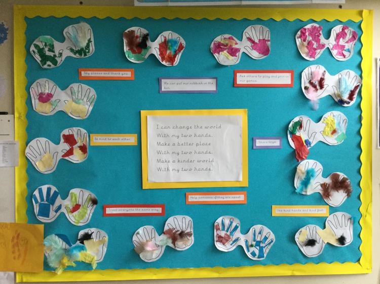 Work completed by our Nursery children