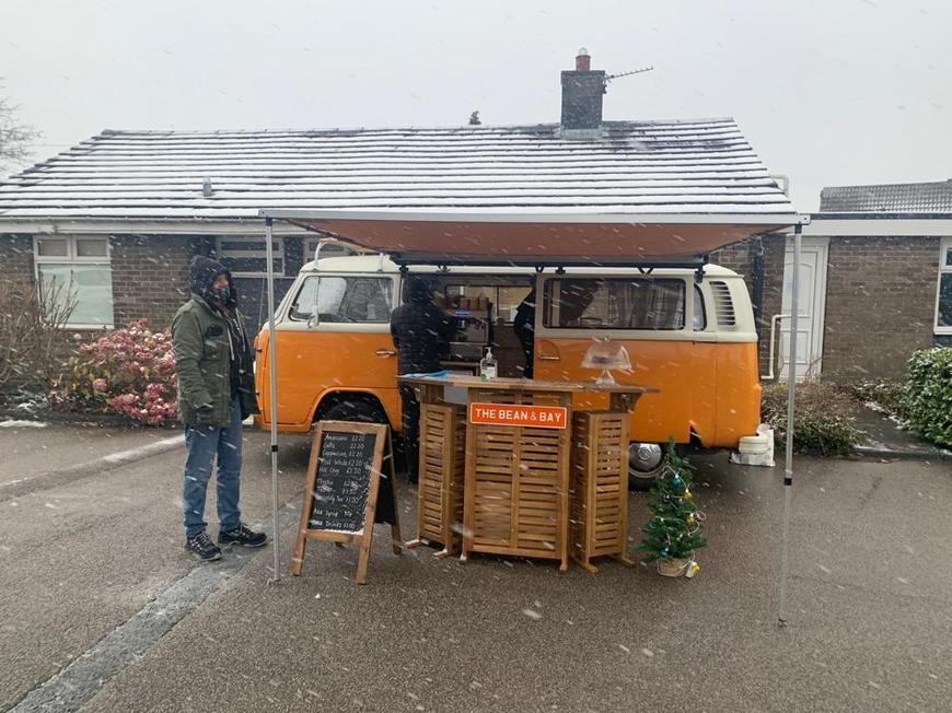 The Bean and Bay Coffee Campervan