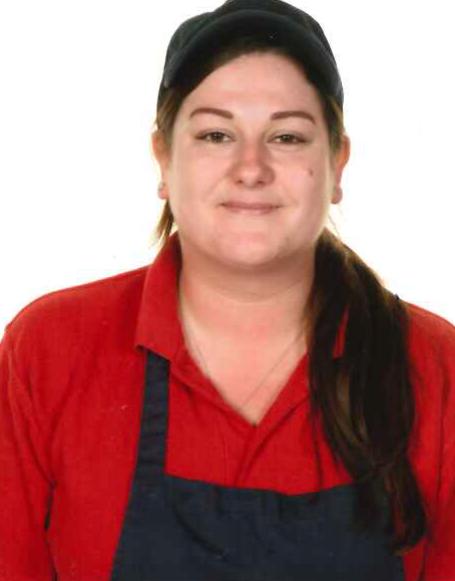Miss Kaley Wilkinson - Deputy Cook