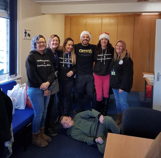 Halifax Homeless and Community Kitchen helping with Christmas Food Parcels