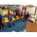 Musical Chairs at our Christmas Party