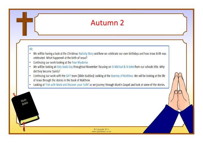 RE Autumn Term 2