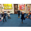 Musical Statues at our Christmas Party