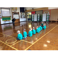 First Assembly with Mrs Mabbott about Harvest