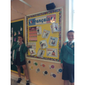 Year 6 French Display