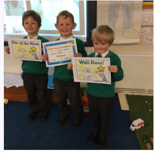 Reception Stars this week