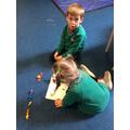 Subtraction - Using Part Whole Model