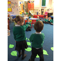 Acting out the story of Easter